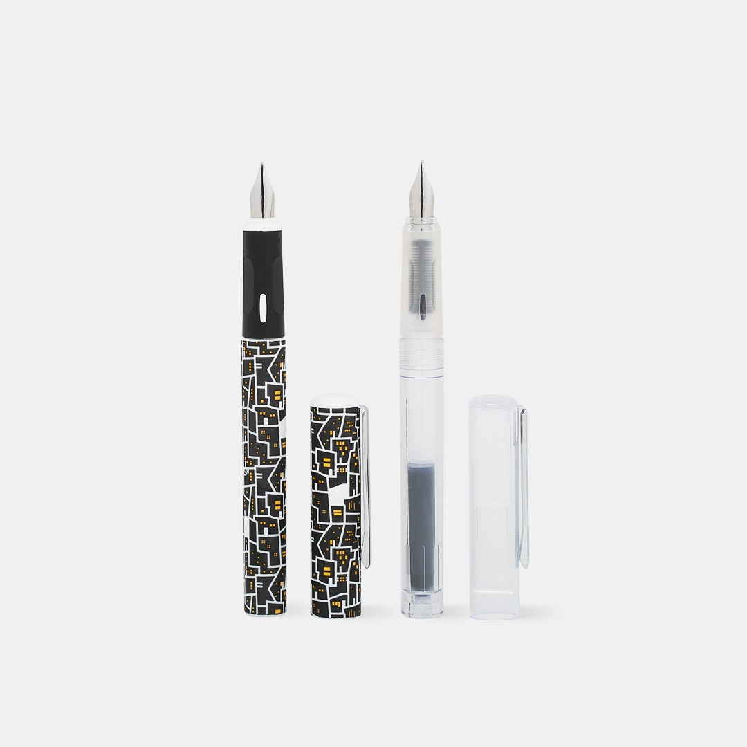 Premec Easy Plume Fountain Pen (2-Pack)