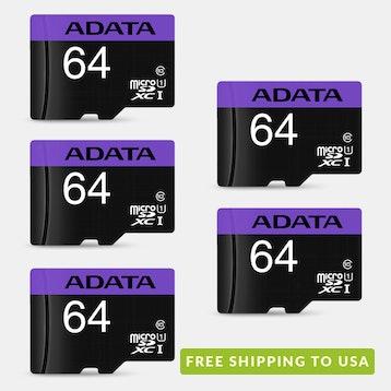 ADATA UHS-1 Premier microSDXC/HC Card (Multi-Pack)