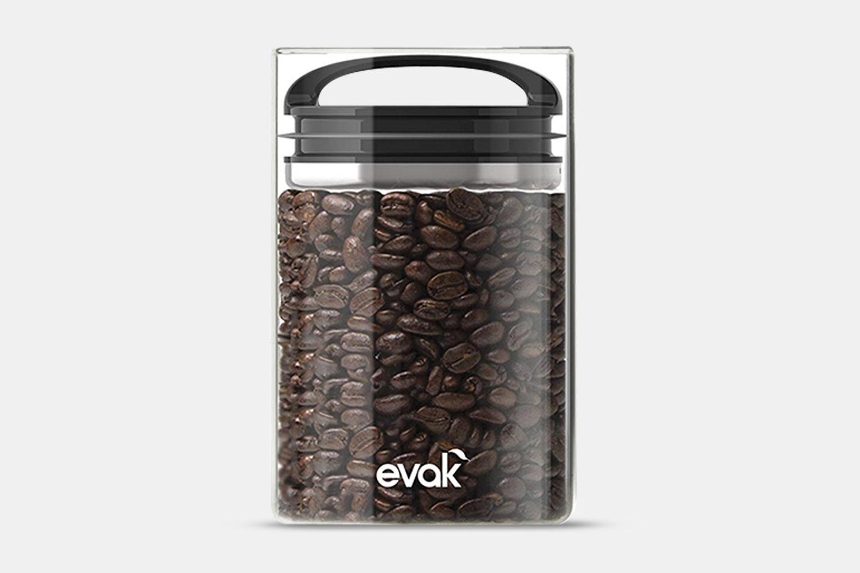 Prepara Evak Storage w/ Black Gloss Handle