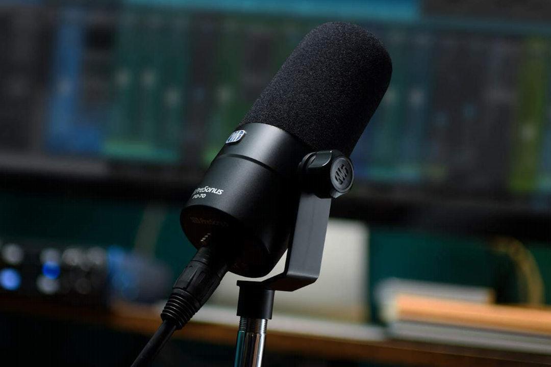 PreSonus PD-70 Dynamic Vocal Microphone