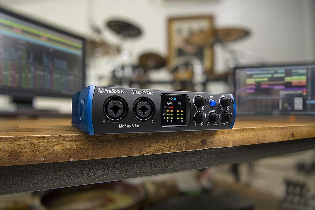 PreSonus Studio 24c 2x2 USB Audio Interface