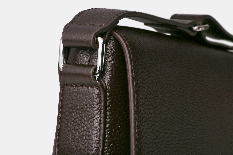 Prestigio Tivoli Leather Messenger Bag