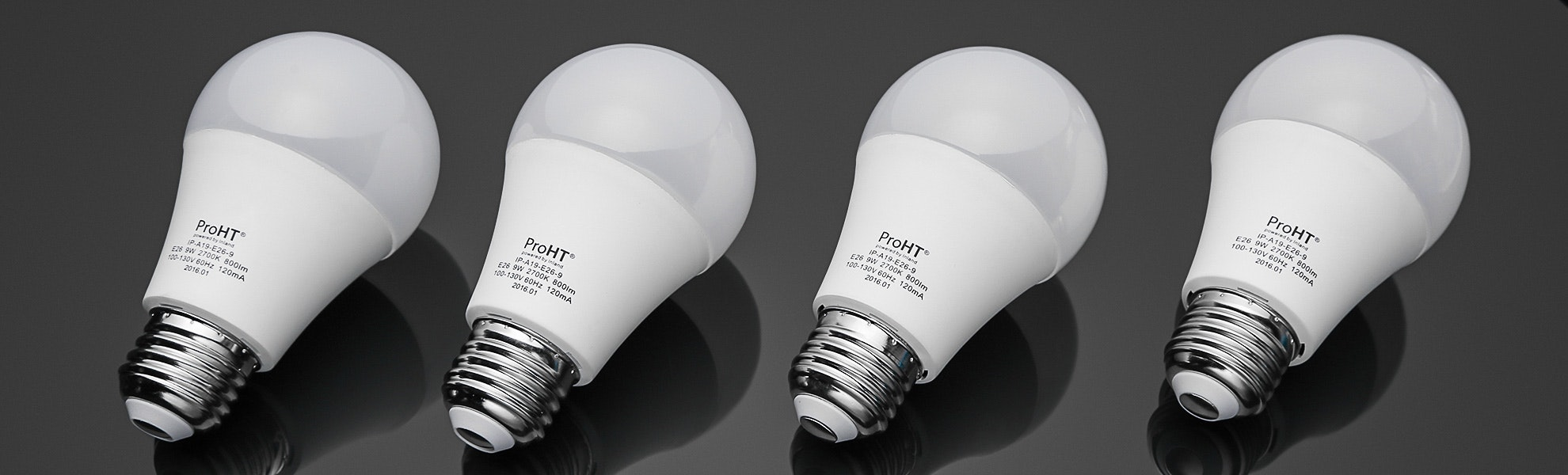 Pro HT LED A19 Soft White Light Bulbs (4-Pack)