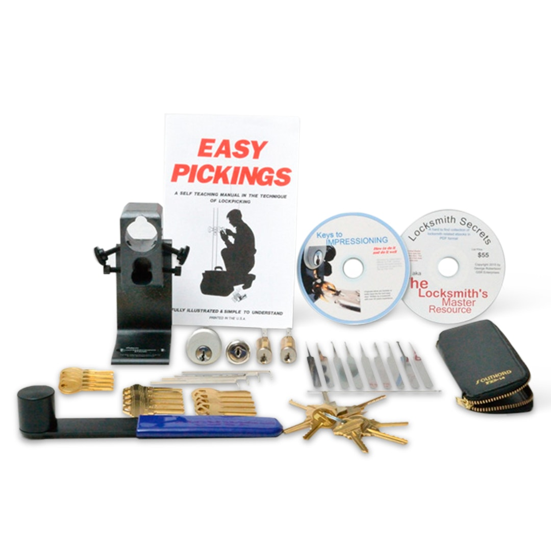 Pro-Maker Deluxe Lockpicking Practice Kit