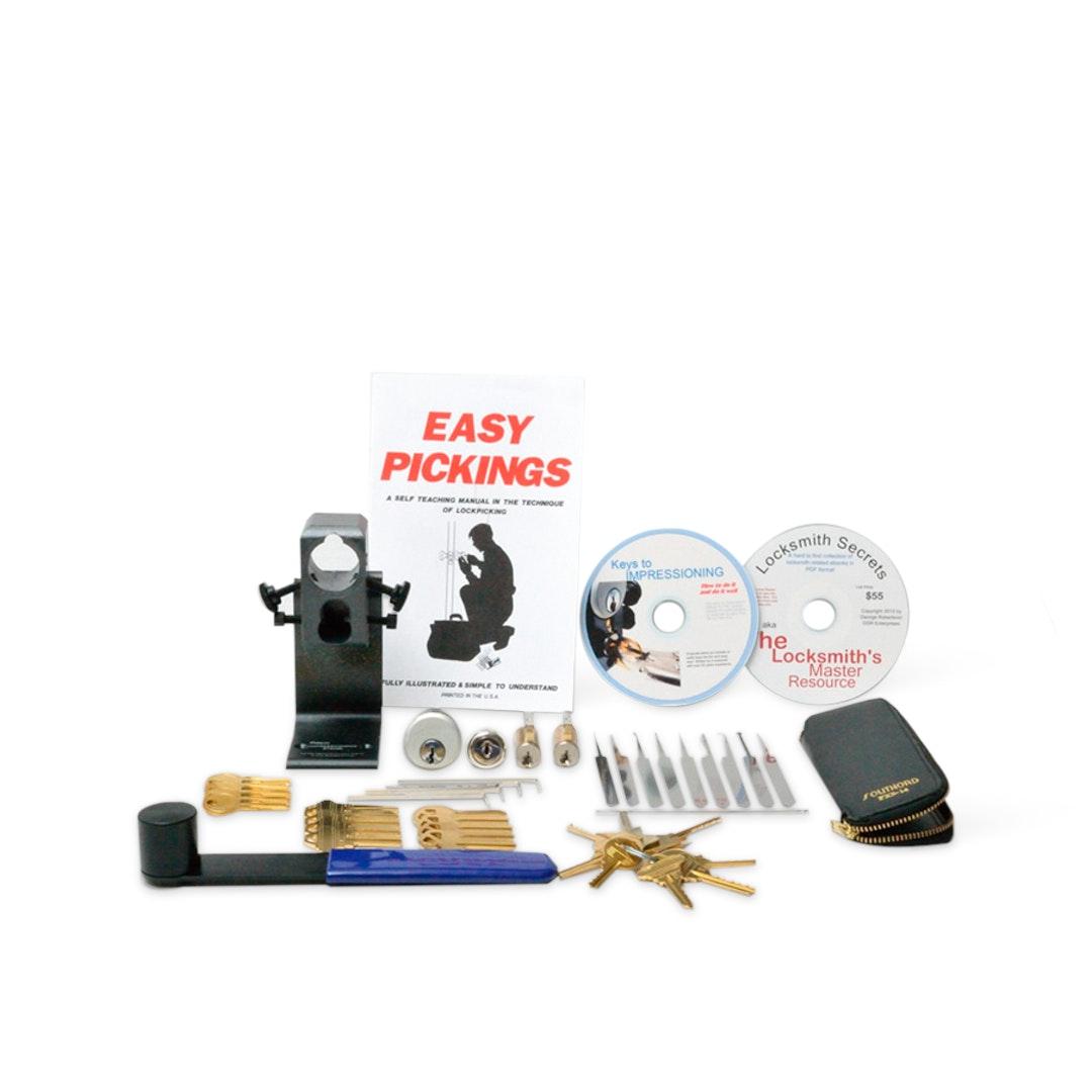Pro-Maker Deluxe Lockpicking Practice Kit