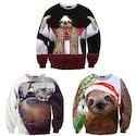 Shelfies Sloth Sweater