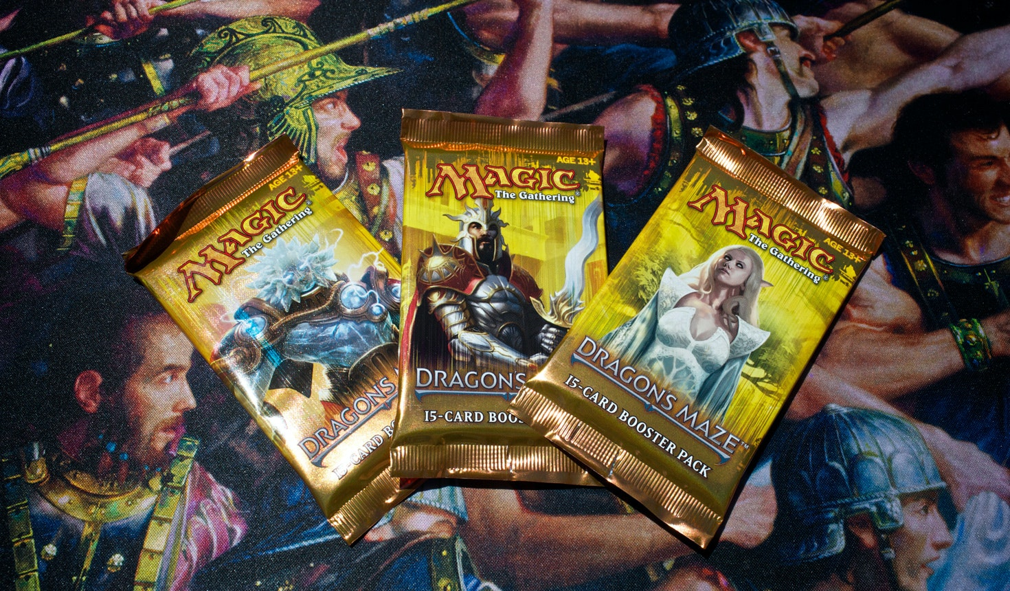 Dragon's Maze Boosters (3-Pack)