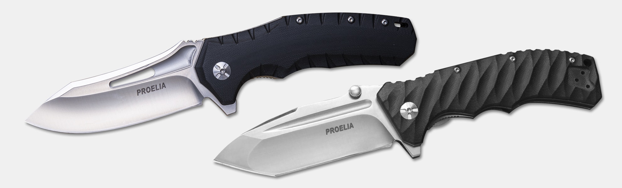 Proelia Knives Tactical Folders (Drop or Tanto)