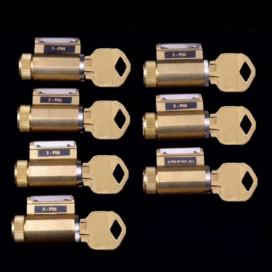 Progressive Set of 7 Practice Locks