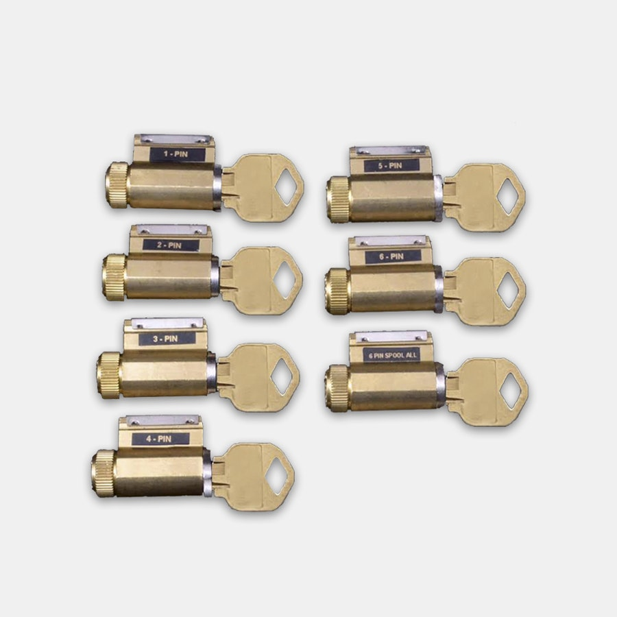 Progressive Set of 7 Practice Locks