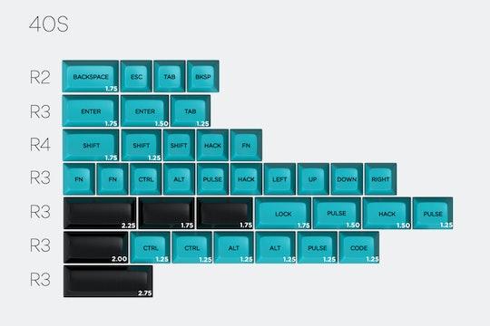 Massdrop x MiTo SA Pulse Custom Keycap Set