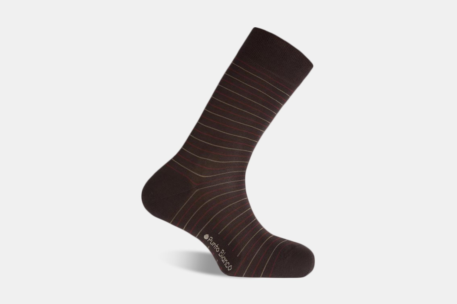 Short Mercerized Stripes - 403 - Brown