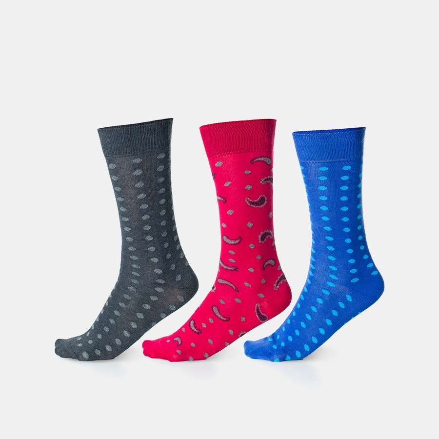 Punto Blanco Patterned Socks (3-pack)