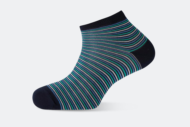 Narrow Stripes – Navy #100