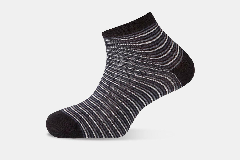 Punto Blanco Striped Ankle Socks (3-Pack)