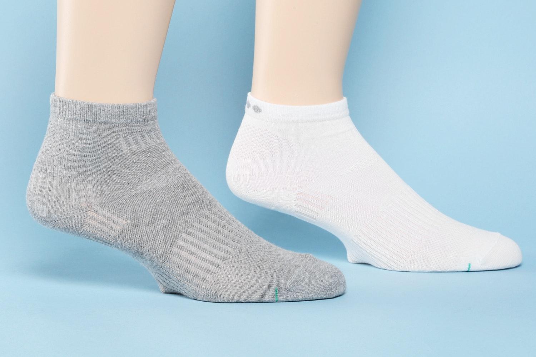 Basic Knit, Gray/White (580)