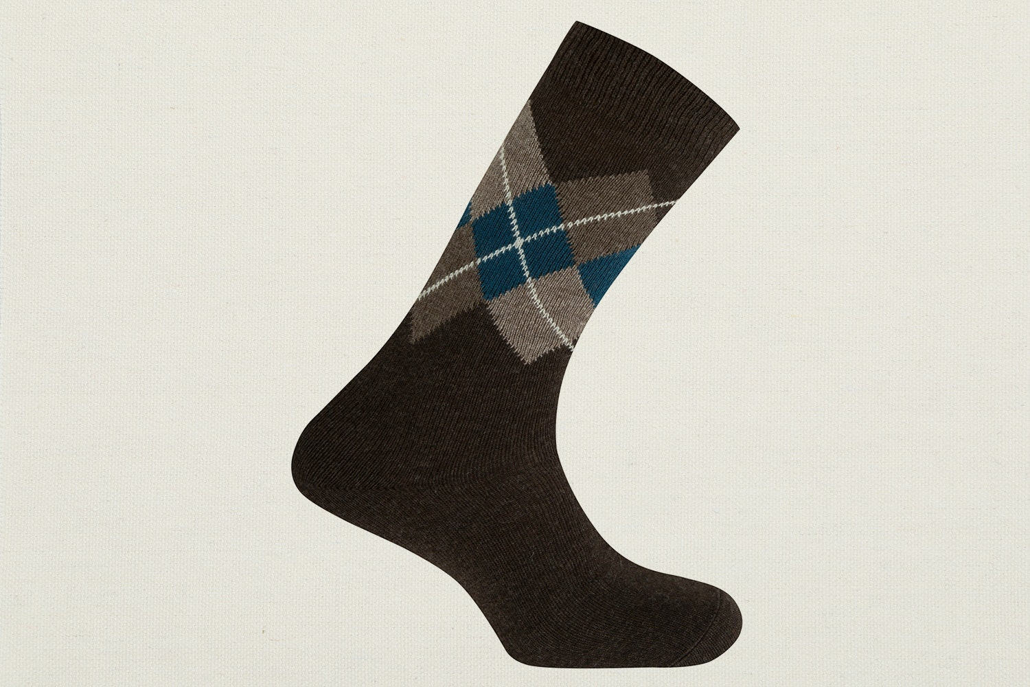 Argyle - Dark Brown