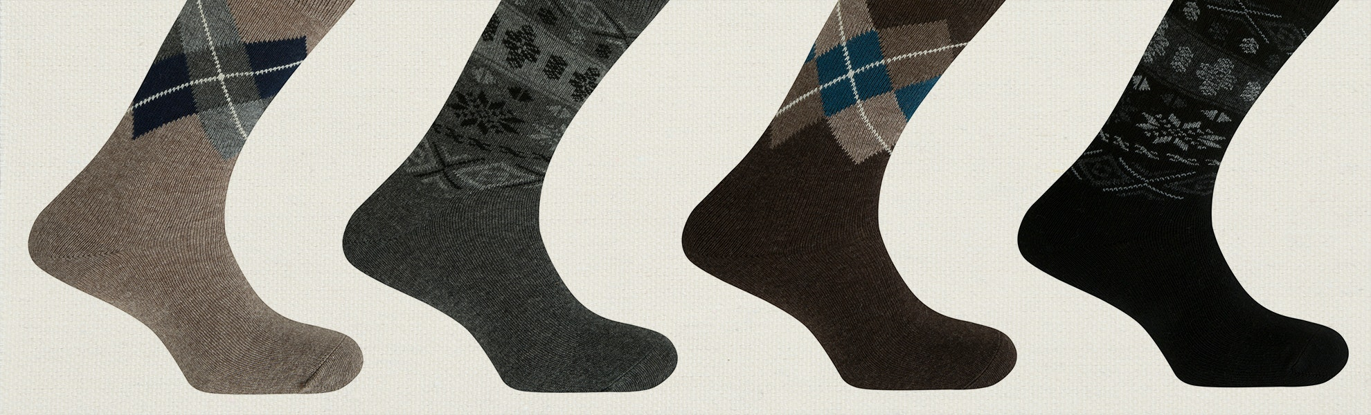 Punto Blanco Wool/Cashmere Socks (3-Pack)