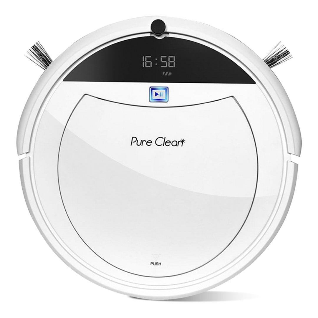 Pure Clean PUCRC105 Smart Robotic Vacuum Cleaner