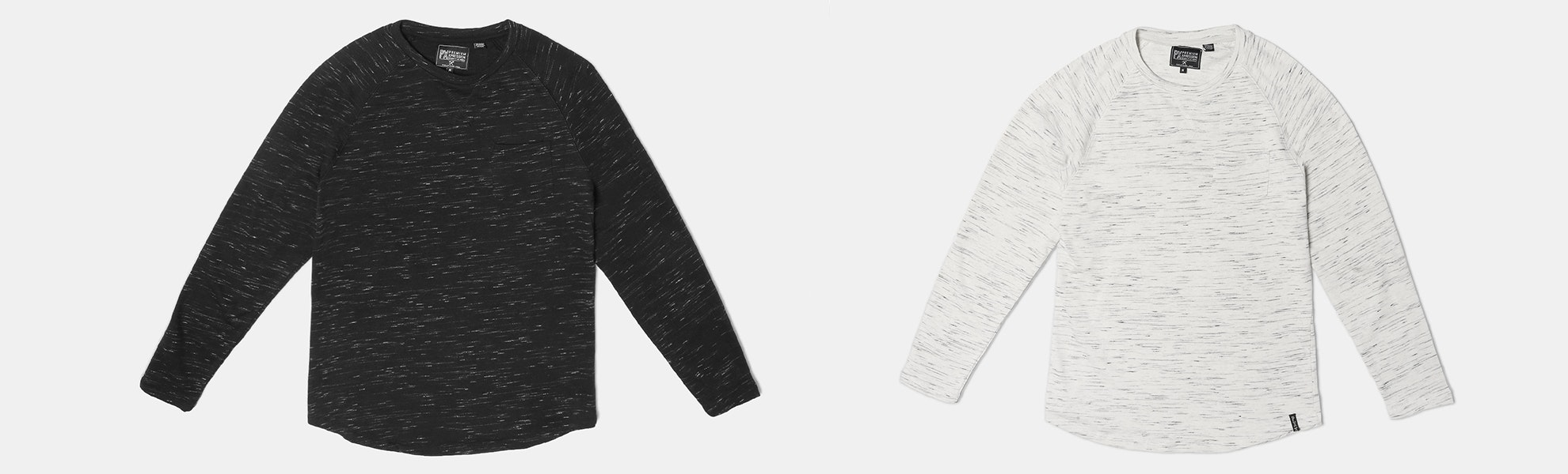 PX Clothing Asher Curved-Hem Pullover