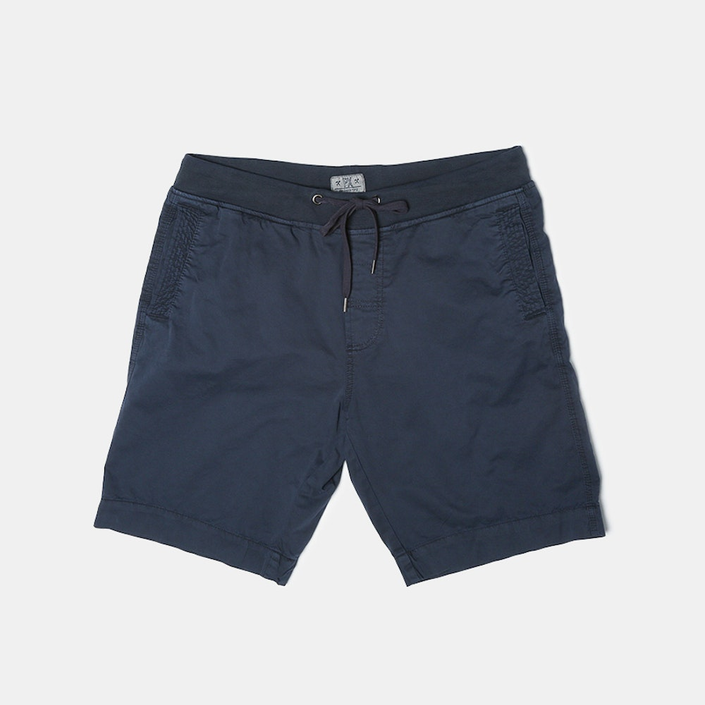 PX Clothing Harvey Shorts Twill Shorts With Elastic Waist -- PX Clothing brings the laid-back, sun-soaked spirit of Southern California into versatile apparel that's comfortable, practical, and always in style. When warmer weather comes around, slip on these cotton twill shorts. With their drawstring elastic waist and 9-inch inseam, they're sure to become your favorite pair! Complete with two side pockets and two back pockets, they boast a true-to-size fit that's tailored in all the right places but not too slim.