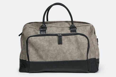 7ad7893a95 PX Clothing Marcel Two-Tone Duffel Bag