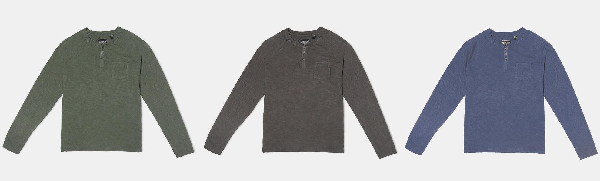 PX Clothing Nate Slub Henley