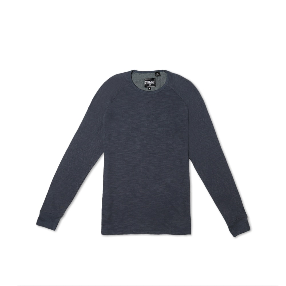 PX Clothing Pullover Tees Textured Pullovers -- PX Clothing brings the laid-back spirit of Southern California into versatile apparel that's comfortable, practical, and always in style. Made for casual Fridays, these textured pullovers are a stylish upgrade from your old college crewneck. The Adrian is an overdyed slub thermal made of 100-percent cotton, while the Chad features contrast sleeves, a curved hem, and a drawstring  hood. Pair your new top with any pair of jeans or chinos in your closet.