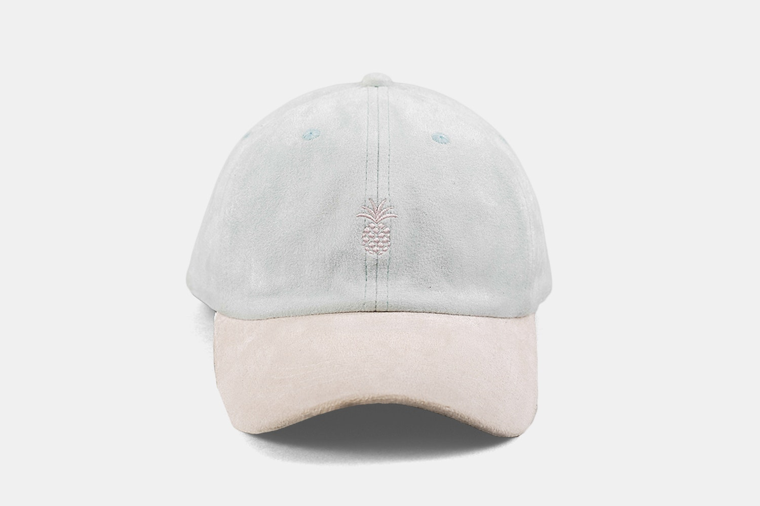 Pineapple Two-Tone Cap - Powder Blue & Orchid