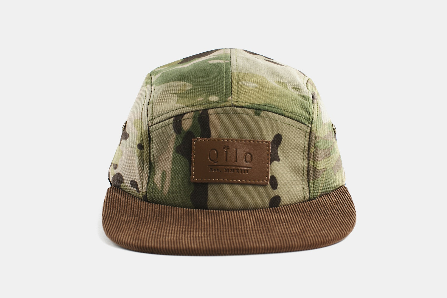 Two-Tone Camp Cap - Multicam & Oak