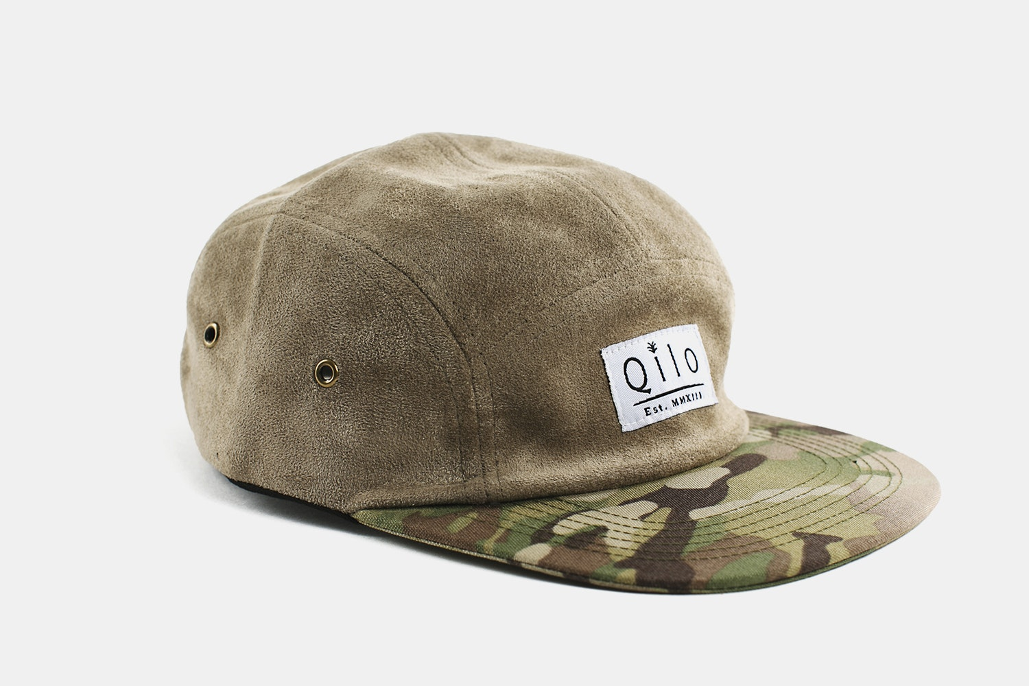 Two-Tone Camp Cap - Desert & Multicam