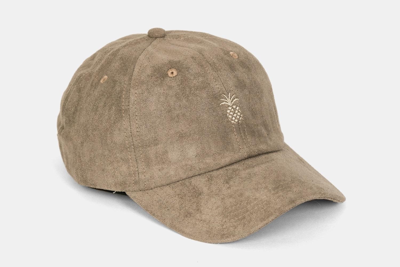 Pineapple Suede Dad Hat - Desert