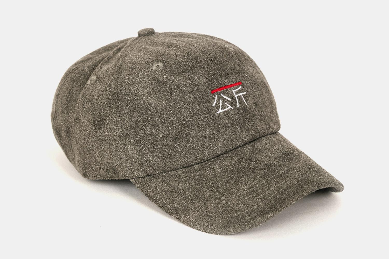 Qilogram Suede Dad Hat - Grey