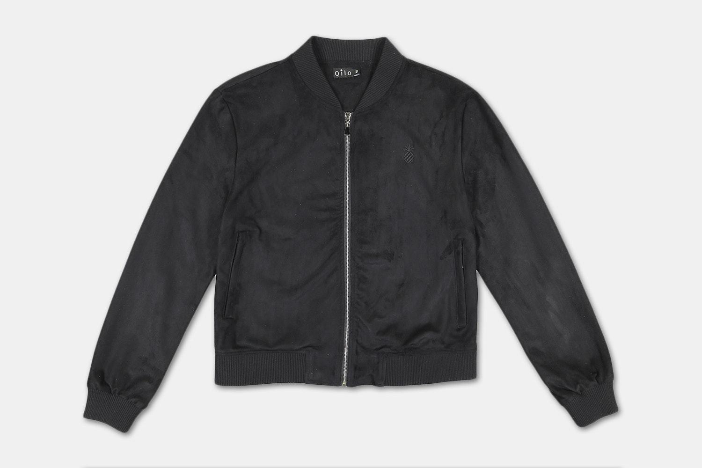 Bomber Jacket (without back embroidery) - Black