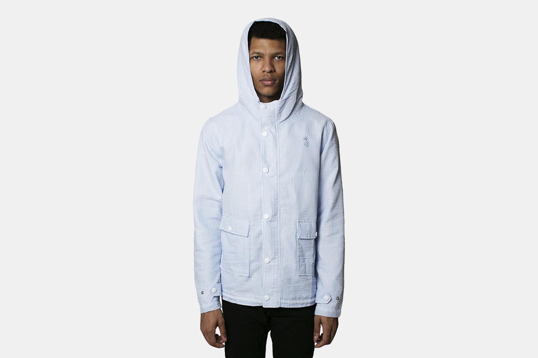 Qilo Seersucker Anorak Jacket