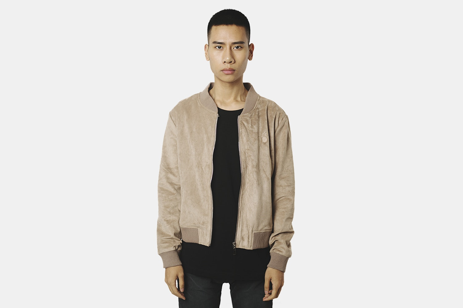 Bomber Jacket  (without back embroidery) - Camel