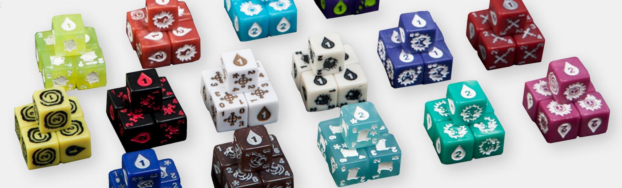 Quarriors Board Game Bundle