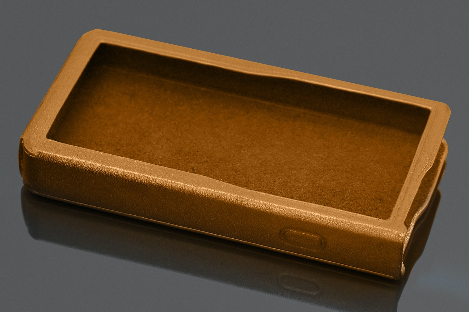 Gold Leather Case (+ $50)