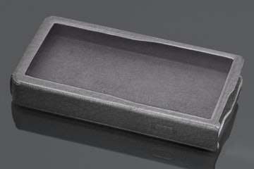 Gray Leather Case (+ $50)
