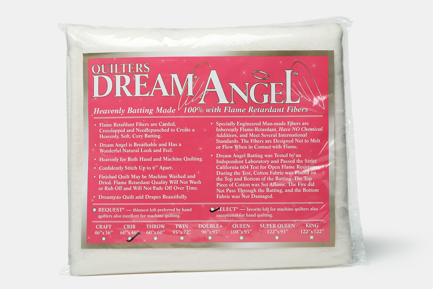Quilters Dream Angel Select