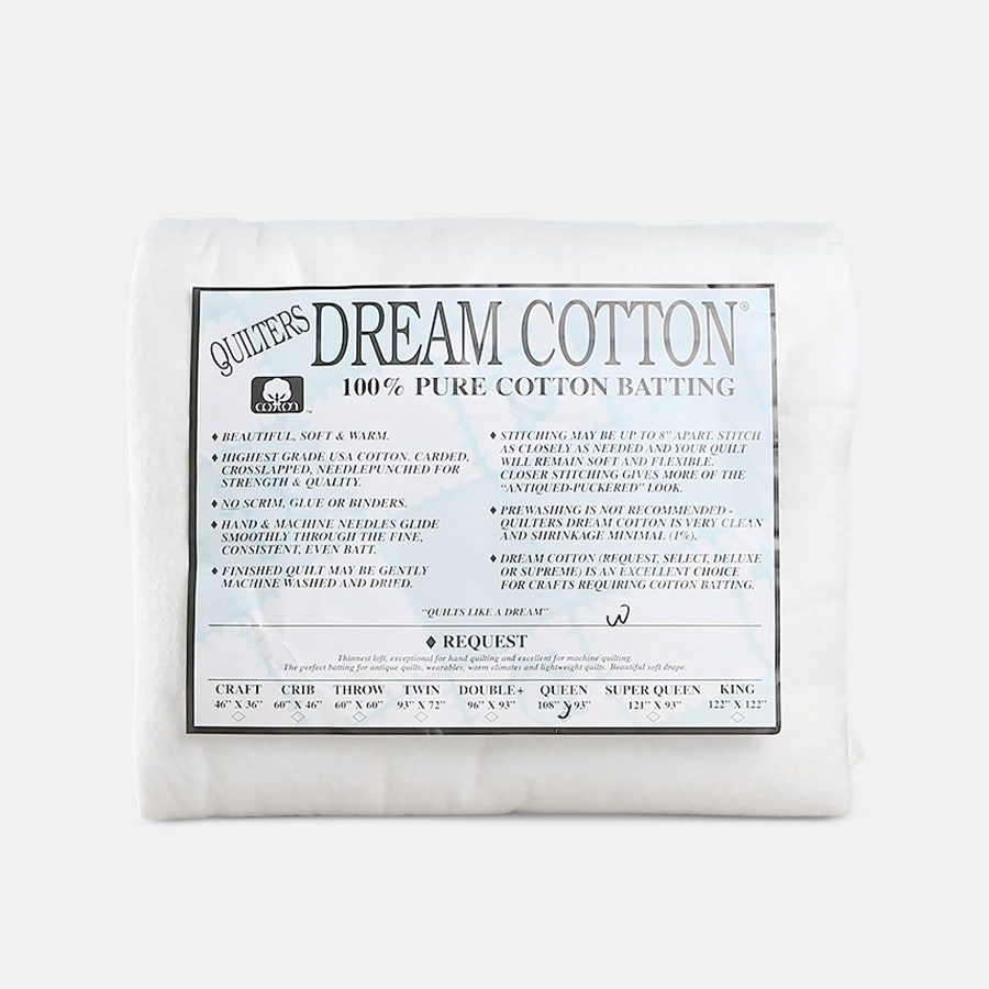 Quilters Dream Cotton Request Batting