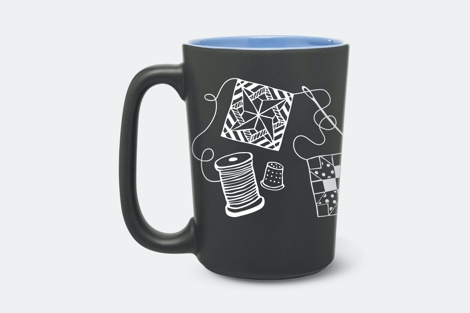 Quilting Scribbles Mug (2-Pack)