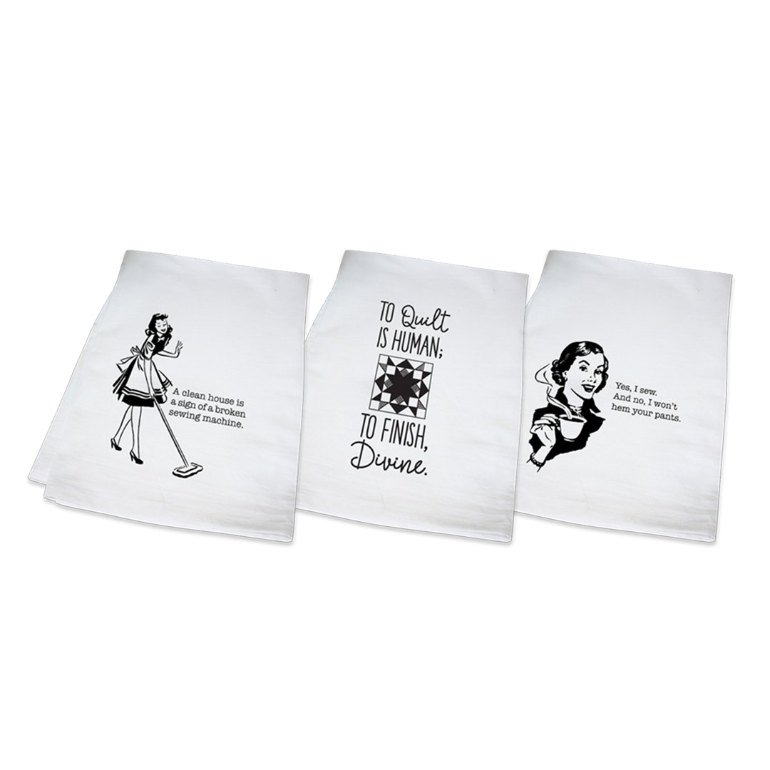 Quilting Tea Towels (3-Pack)