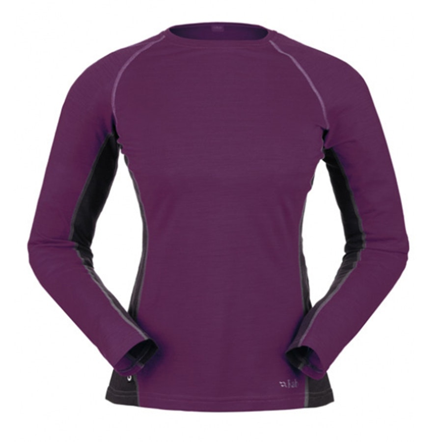 120 Long Sleeve Tee, Violet (+ $7)