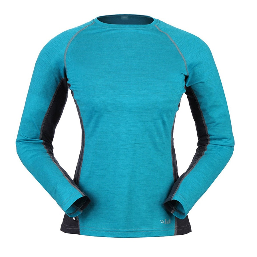 120 Long Sleeve Tee, Aqua (+ $7)
