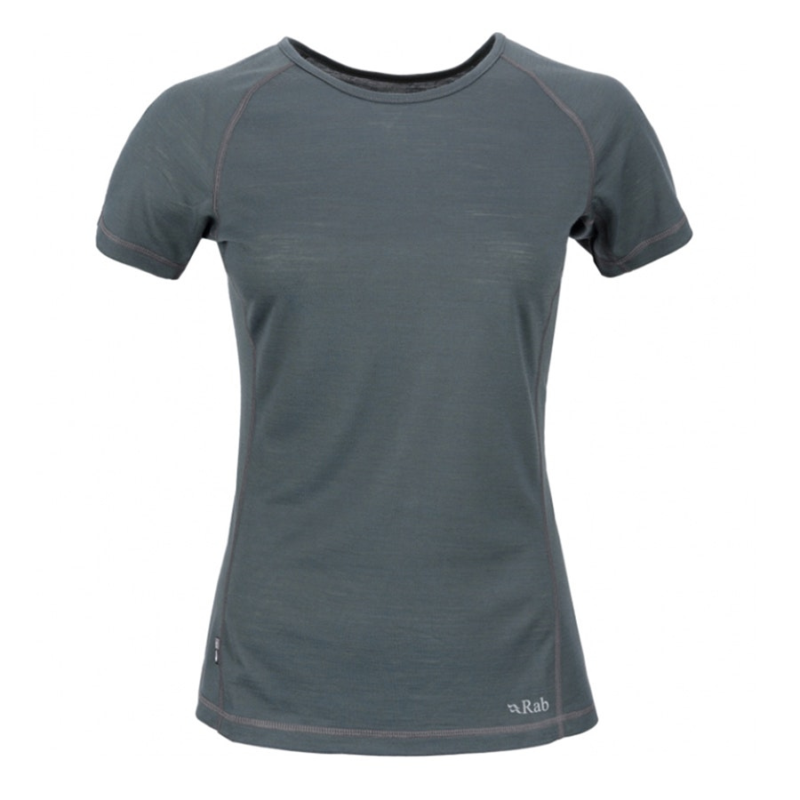 140 Short Sleeve Stripe Tee, Smoke (+ $3)
