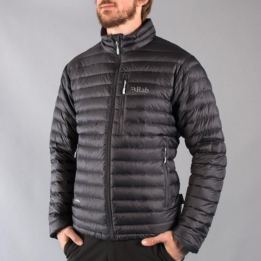 Men's Microlight Jacket, beluga/squash