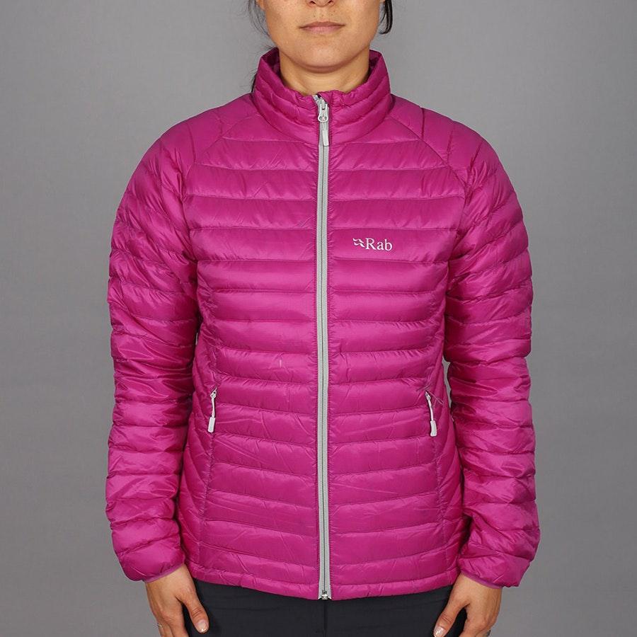 Women's Microlight Jacket, lupin/gargoyle