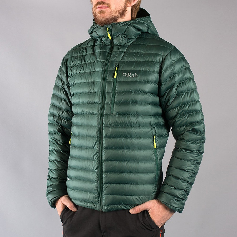 Men's Alpine Jacket, fir/lime