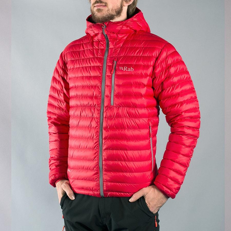 Men's Alpine Jacket, ricochet/shark